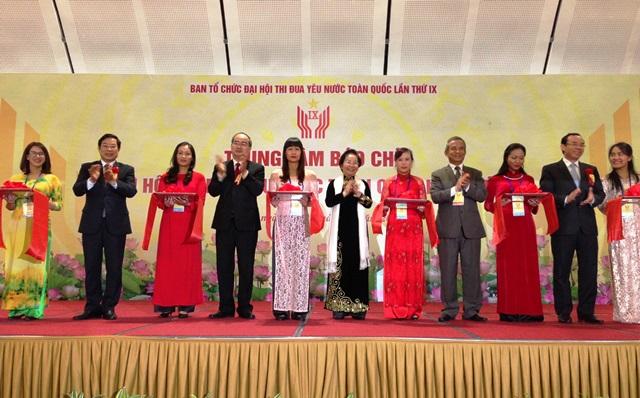 Khai trương Trung tâm Báo chí Đại hội thi đua yêu nước toàn quốc lần thứ IX
