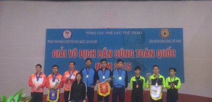 Quảng Ninh giành Huy chương đồng tại Giải vô địch Bắn súng quốc gia năm 2015