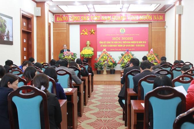 Công đoàn viên chức tỉnh Quảng Ninh triển khai công tác năm 2016