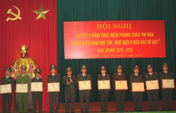 Cán bộ, chiến sỹ Công an Hà Nam thi đua hoàn thành xuất sắc nhiệm vụ