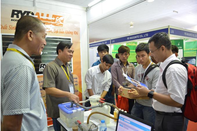 Triển lãm quốc tế máy móc thiết bị, nguyên phụ liệu và sản phẩm công nghiệp