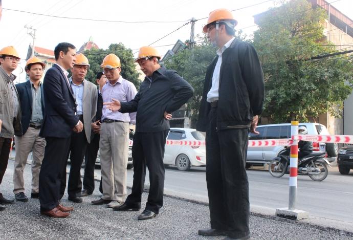 Hoàn thành sửa chữa các đoạn bị hằn lún trên QL18 đoạn Uông Bí – Hạ Long trước 25/12