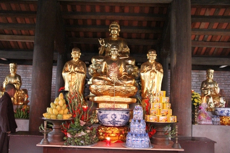 Quảng Ninh: Rước và an vị tượng chùa Ngọa Vân (Đông Triều)