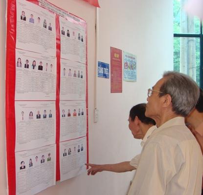 Phát động thi đua thực hiện tốt cuộc bầu cử đại biểu Quốc hội khóa XIV ngay từ đầu năm