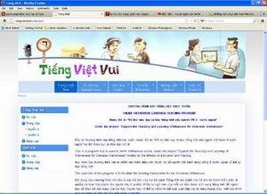 Nâng cấp website tiengvietonline.com.vn