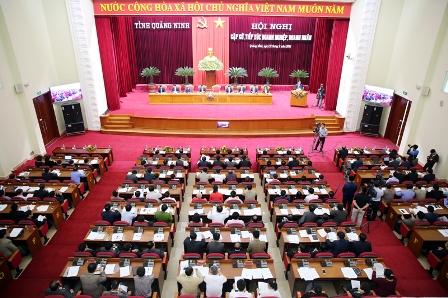 Quảng Ninh gặp gỡ, tiếp xúc doanh nghiệp, doanh nhân