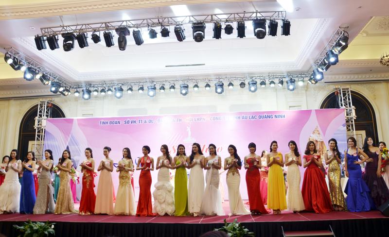 20 thí sinh lọt vào vòng chung kết hội thi người đẹp Hạ Long 2016