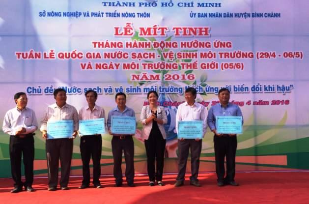 Thành phố Hồ Chí Minh hưởng ứng ngày Môi trường thế giới năm 2016