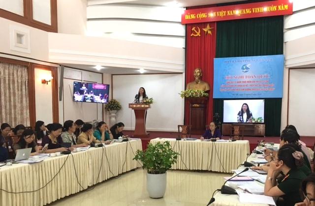 Trung ương Hội LHPN Việt Nam tổng kết 5 năm thực hiện Chỉ thị 03-CT/TW