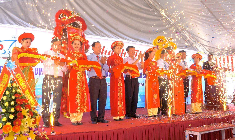 Quảng Nam: Khánh thành và đưa vào sử dụng Nhà máy đóng tàu vỏ thép đầu tiên