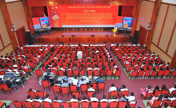 Đảng bộ Ngân hàng VietinBank tổng kết 5 năm thực hiện Chỉ thị số 03-CT/TW của Bộ Chính trị