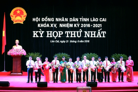 Khai mạc kỳ họp đầu tiên HĐND tỉnh Lào Cai khóa XV