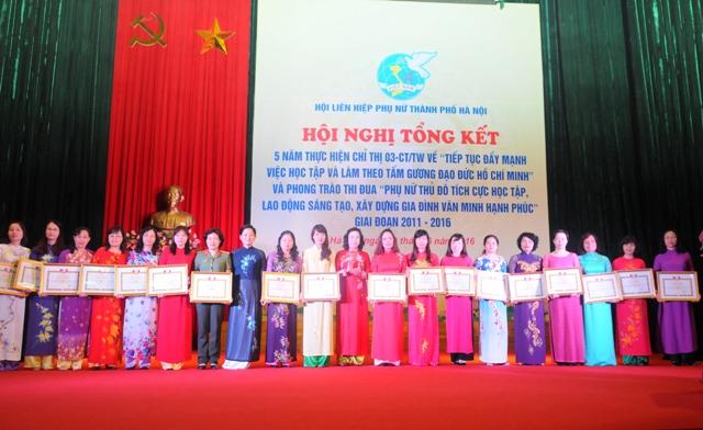 Tạo động lực để phụ nữ Thủ đô góp sức cho sự phát triển