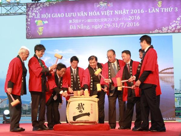 Khai mạc Lễ hội Giao lưu văn hoá Việt - Nhật 2016