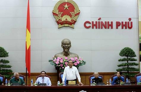 Phó Thủ tướng Trương Hòa Bình tiếp đoàn đại biểu người có công với cách mạng tỉnh Cà Mau