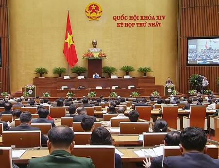 Bế mạc kỳ họp thứ nhất, Quốc hội khóa XIV