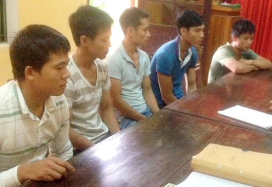 Vụ phá rừng pơ mu ở Quảng Nam: 5 đối tượng vận chuyển gỗ ra đầu thú