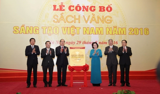 71 công trình được vinh danh trong Sách vàng Sáng tạo Việt Nam 2016