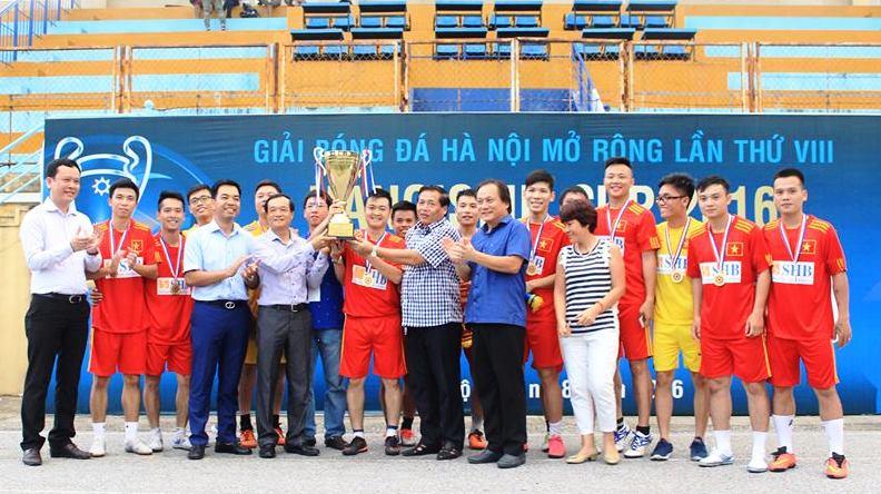 Bế mạc Giải Bóng đá Hà Nội mở rộng lần thứ VIII - HANOISME CUP 2016