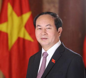 Chủ tịch nước Trần Đại Quang và Phu nhân bắt đầu thăm cấp Nhà nước tới Cộng hòa Singapore