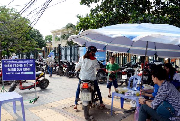 Hà Nội: Hơn 100 điểm trông giữ xe phố đi bộ quanh hồ Hoàn Kiếm đã sẵn sàng