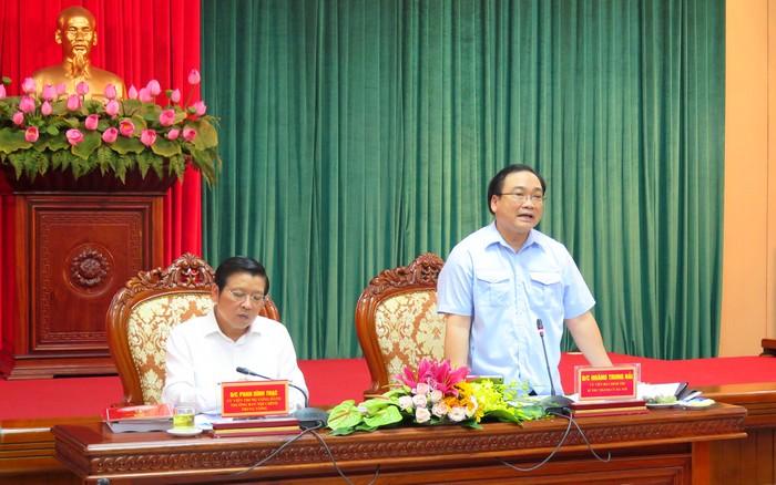 Kiểm tra kết quả thực hiện Nghị quyết Trung ương 3 (khóa X) tại Thành ủy Hà Nội