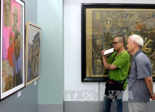 Triển lãm mỹ thuật khu vực Đồng bằng sông Hồng lần thứ 21