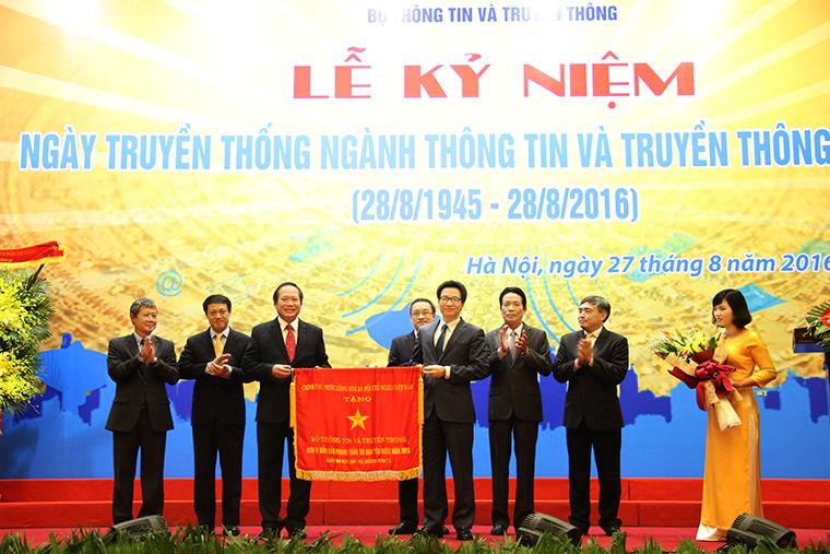 Chủ tịch Quốc hội Nguyễn Thị Kim Ngân dự Lễ kỷ niệm Ngày truyền thống Ngành Thông tin và Truyền thông
