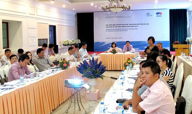 Quảng Ninh xây dựng tài khoản vệ tinh đánh giá tác động trực tiếp của du lịch tới kinh tế địa phương