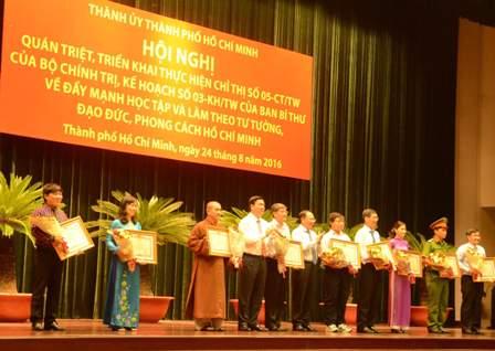 Đột phá nhằm tạo chuyển biến rõ rệt trong học tập và làm theo tư tưởng, đạo đức, phong cách Hồ Chí Minh