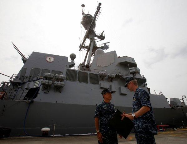 Hải quân Mỹ và Hàn Quốc tập trận chung