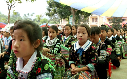 """Quyết định số 1008/QĐ-TTg, phê duyệt Đề án """"Tăng cường tiếng Việt cho trẻ em mầm non, học sinh tiểu học vùng TDTS giai đoạn 2016-2020, định hướng 2025"""""""