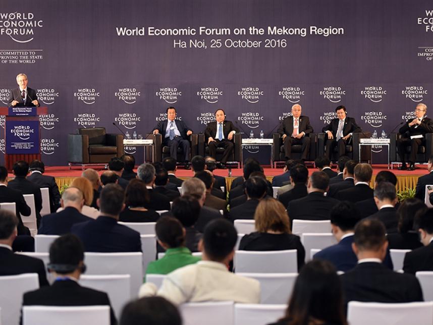 Diễn đàn Kinh tế thế giới về khu vực Mê Công 2016