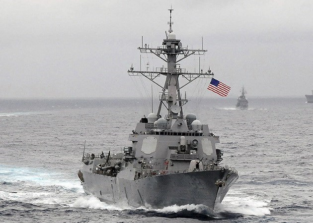 Mỹ tiến hành hoạt động tự do hàng hải trên Biển Đông