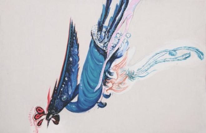 """Triển lãm """"Tác phẩm tiêu biểu họa sỹ trẻ Trung Quốc - Một góc nhìn mới"""""""