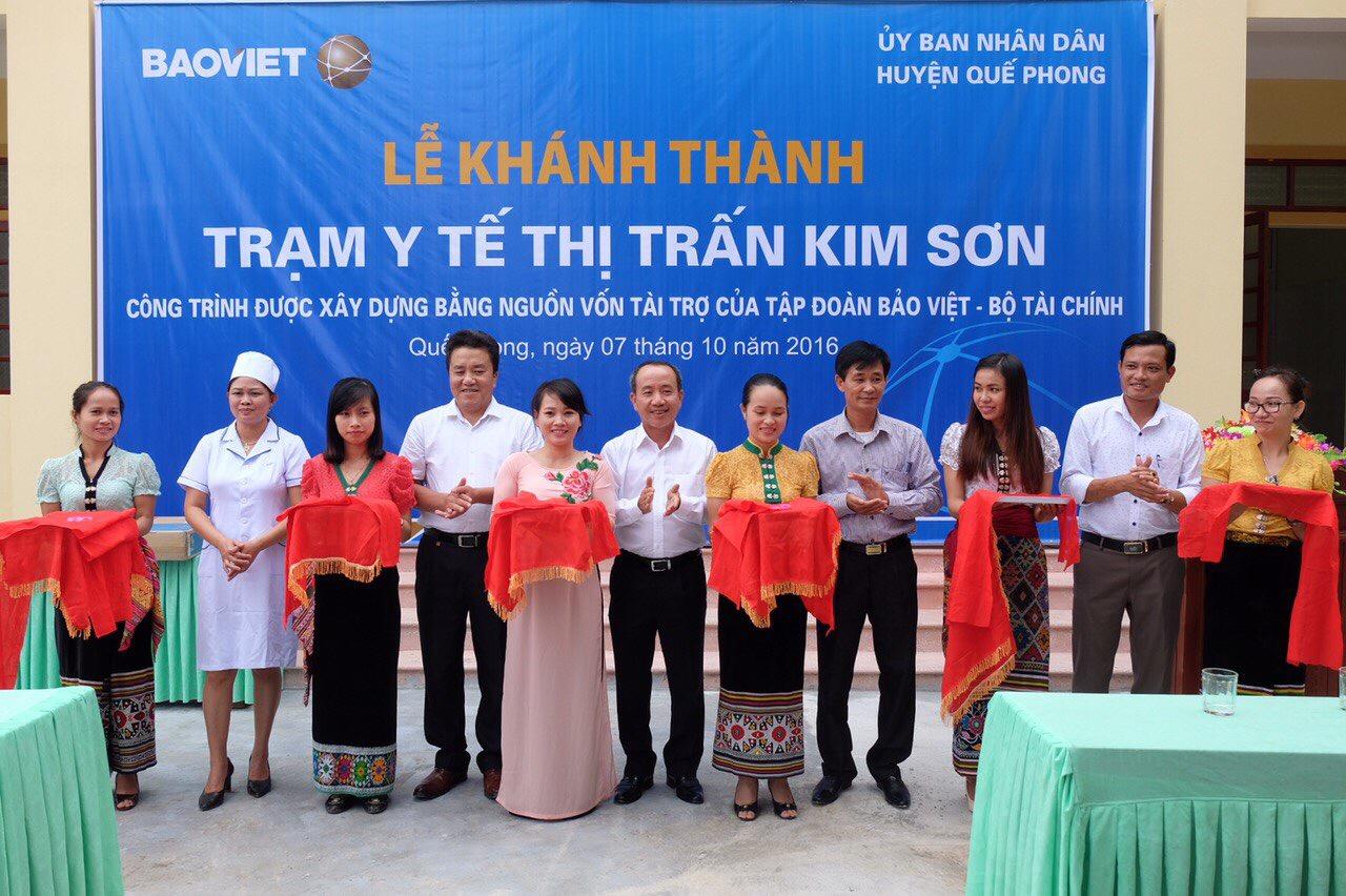 Khánh thành Trạm y tế Thị trấn Kim Sơn với kinh phí đầu tư 4,9 tỷ đồng