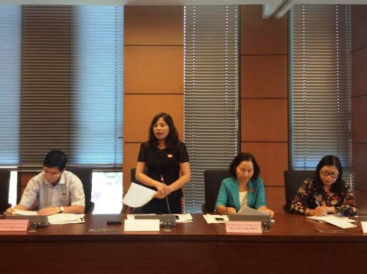 Sửa đổi Bộ luật Hình sự: Không vội thông qua tại 1 kỳ họp