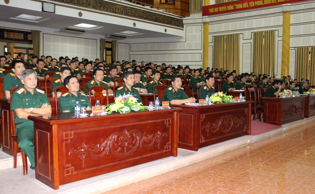 Quân khu 1: Thông báo nhanh kết quả Hội nghị lần thứ tư Ban chấp hành Trung ương Đảng khóa XII