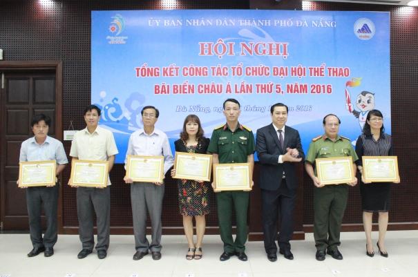 Tổng kết công tác tổ chức Đại hội Thể thao bãi biển châu Á lần thứ 5