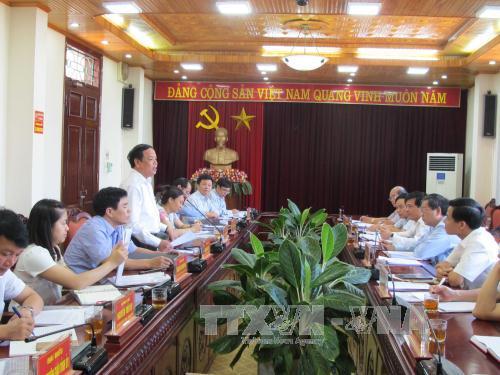 Đoàn công tác Ban Tuyên giáo Trung ương làm việc tại tỉnh Bắc Ninh