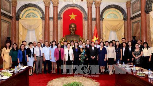 Phó Chủ tịch nước nhận chức danh Chủ tịch Hội đồng bảo trợ Quỹ Bảo trợ trẻ em Việt Nam
