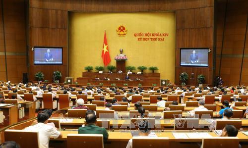 Thông cáo số 4 kỳ họp thứ 2, Quốc hội khóa XIV
