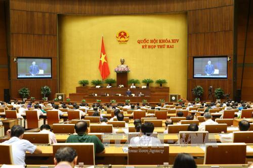 Thông cáo số 6 Kỳ họp thứ 2, Quốc hội khóa XIV