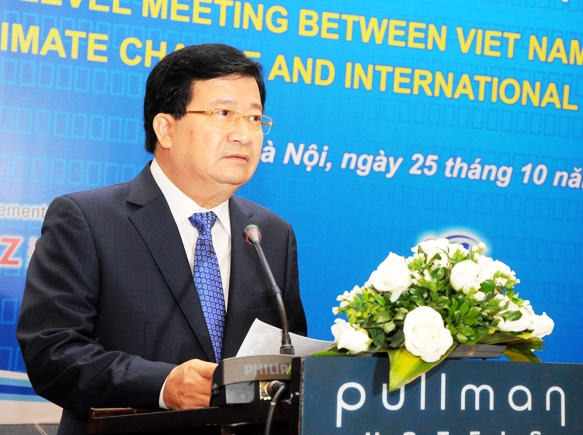 Việt Nam cam kết mạnh mẽ cùng cộng đồng quốc tế ứng phó với biến đổi khí hậu