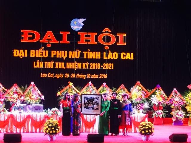 Lào Cai: Đại hội đại biểu Phụ nữ tỉnh lần thứ XVII, nhiệm kỳ 2016-2021