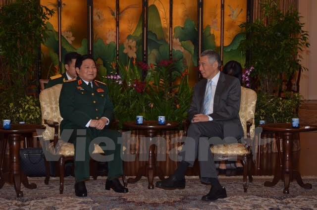 Thúc đẩy hợp tác quốc phòng Việt Nam-Singapore ngày càng hiệu quả