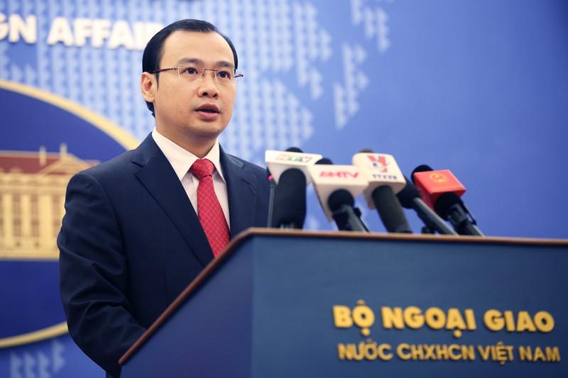 Việt Nam kiên quyết phản đối việc Đài Loan diễn tập trên biển thuộc quần đảo Trường Sa
