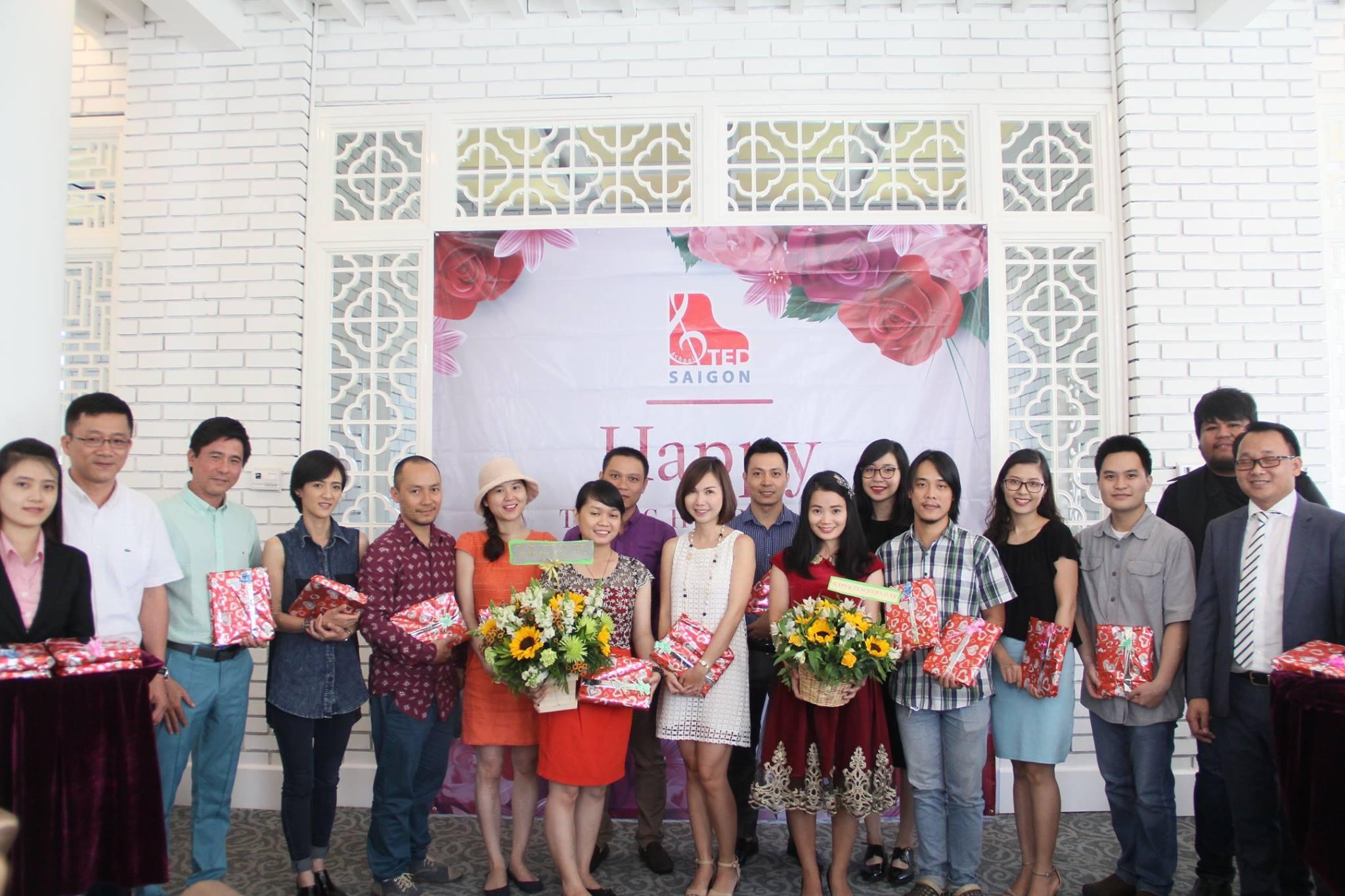 TED SAIGON: Tổ chức Lễ kỷ niệm ngày Nhà giáo Việt Nam 20/11