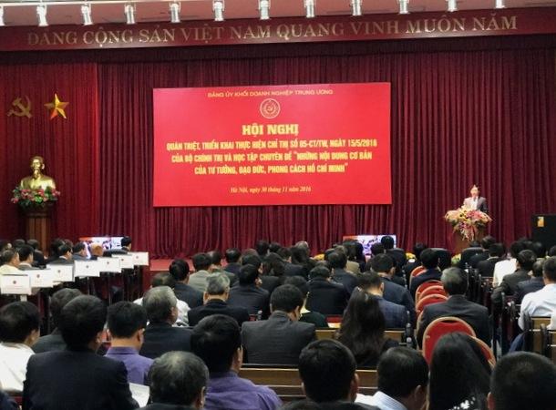 Đảng ủy Khối Doanh nghiệp Trung ương triển khai Chỉ thị 05-CT/TW của Bộ Chính trị