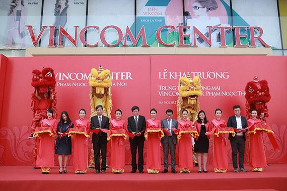 Khai trương Vincom Center Phạm Ngọc Thạch, Hà Nội